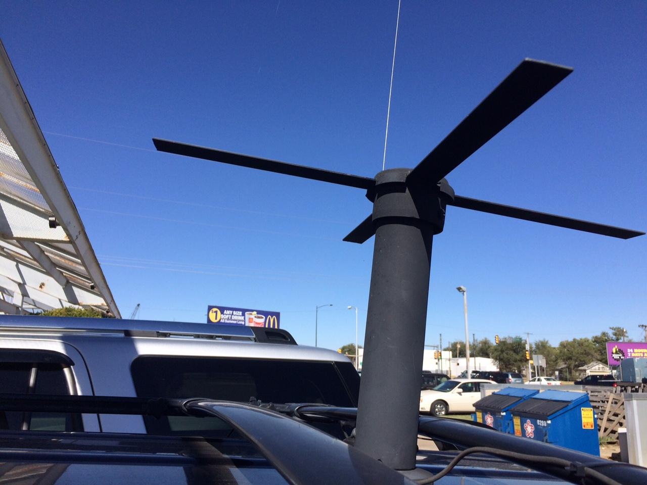 Black Horizon: How to build a UHF SATCOM antenna for under