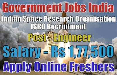 ISRO Recruitment 2018 for Engineer Post