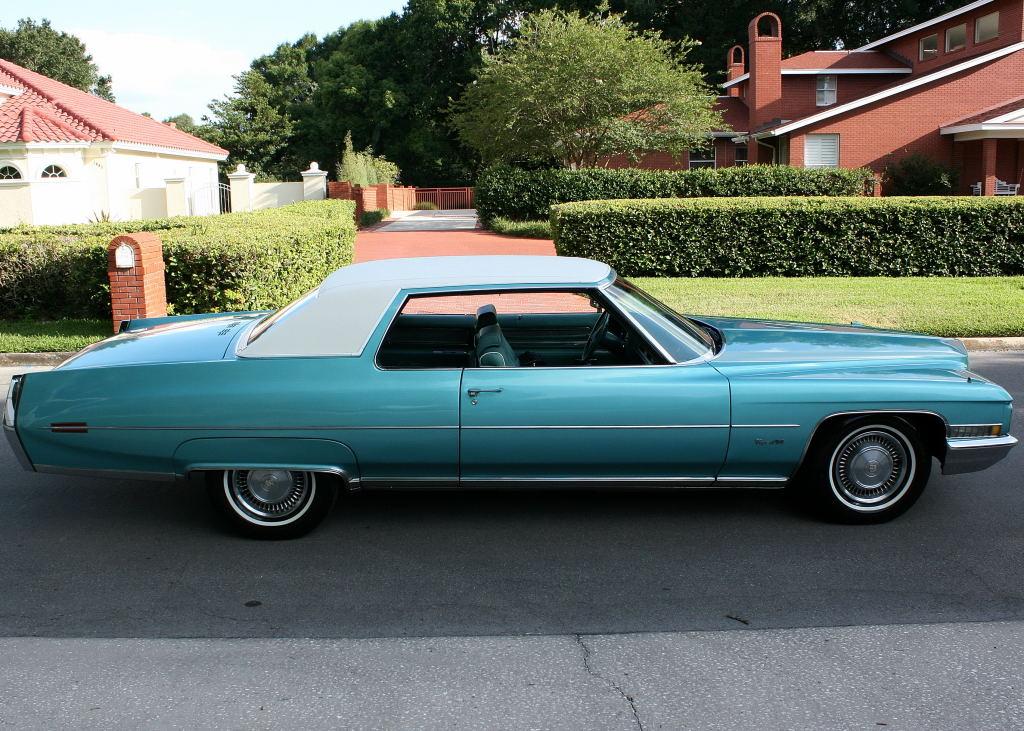 All American Classic Cars: 1971 Cadillac Coupe de Ville 2-Door Hardtop
