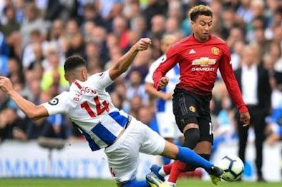 Leon Balogun makes English premier league bow as Brighton stun Manchester United