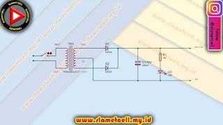 Skema rangkaian power supply CT