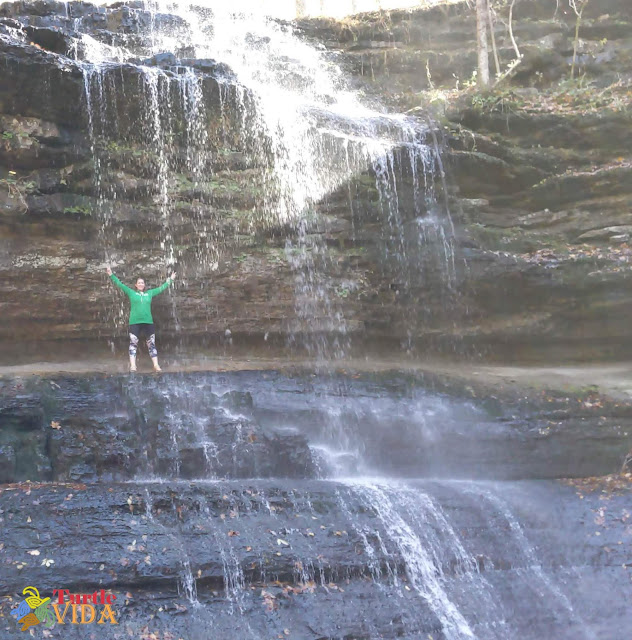 Stillhouse Hollow Falls in Tennessee