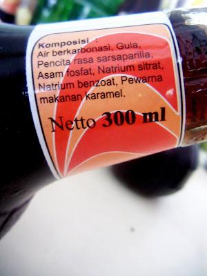 Minuman soda di Yogya