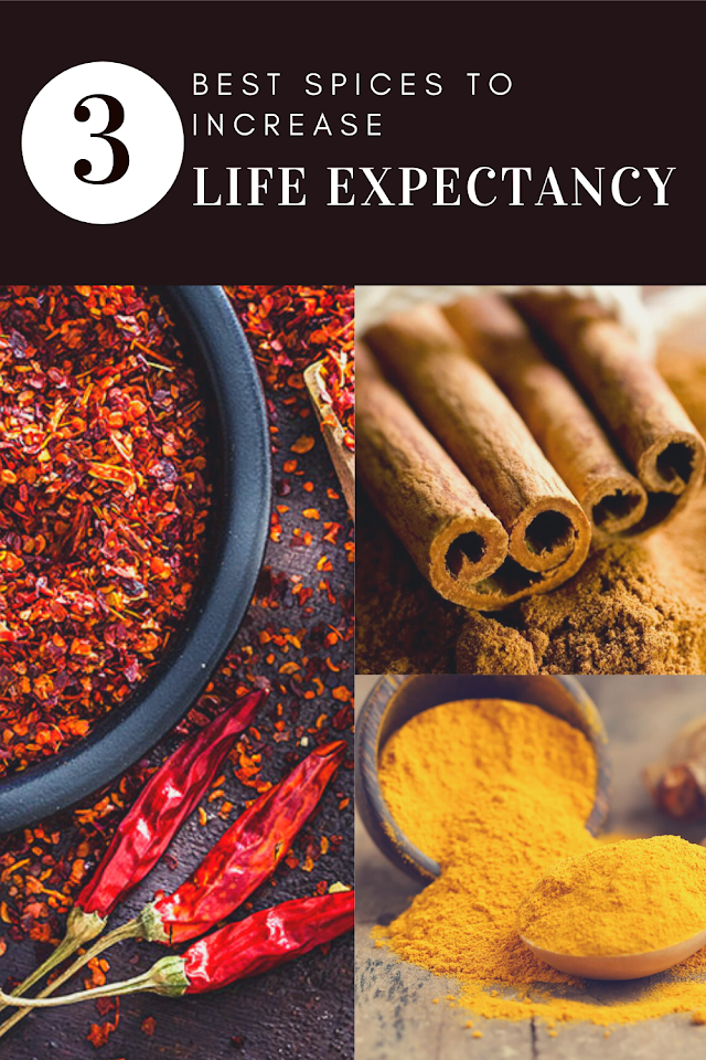 The Three Best Spices To Increase Life Expectancy
