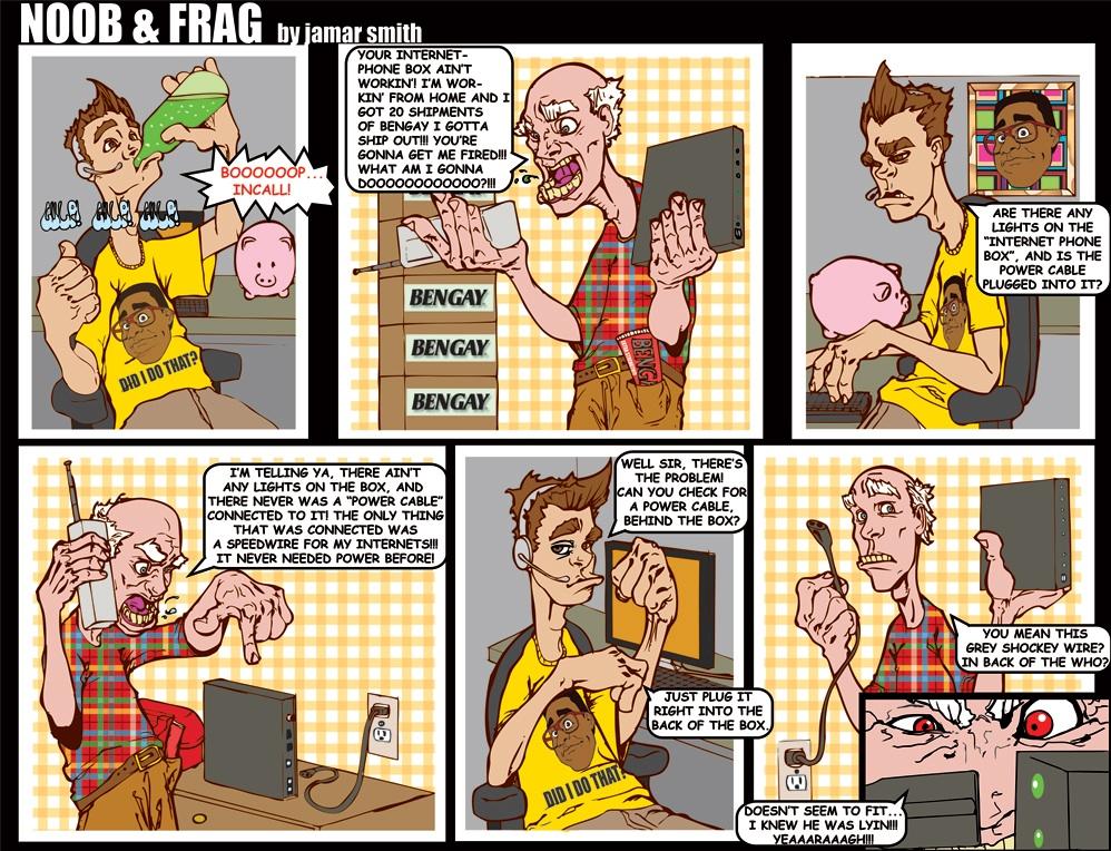 Comic strip creator program