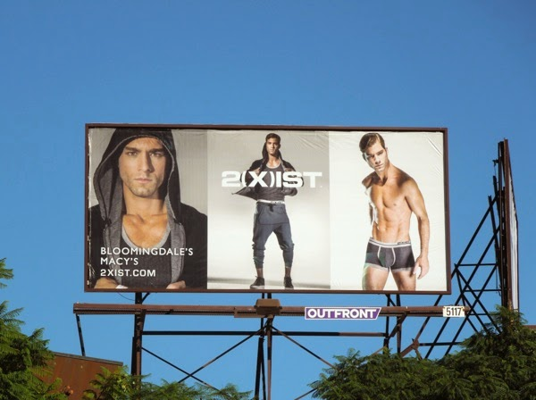 2Xist everyday active gear billboard