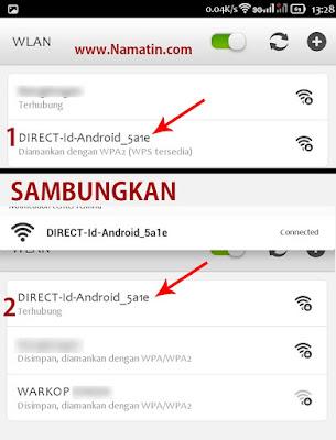 cara berbagi wifi id dari hp ke hp