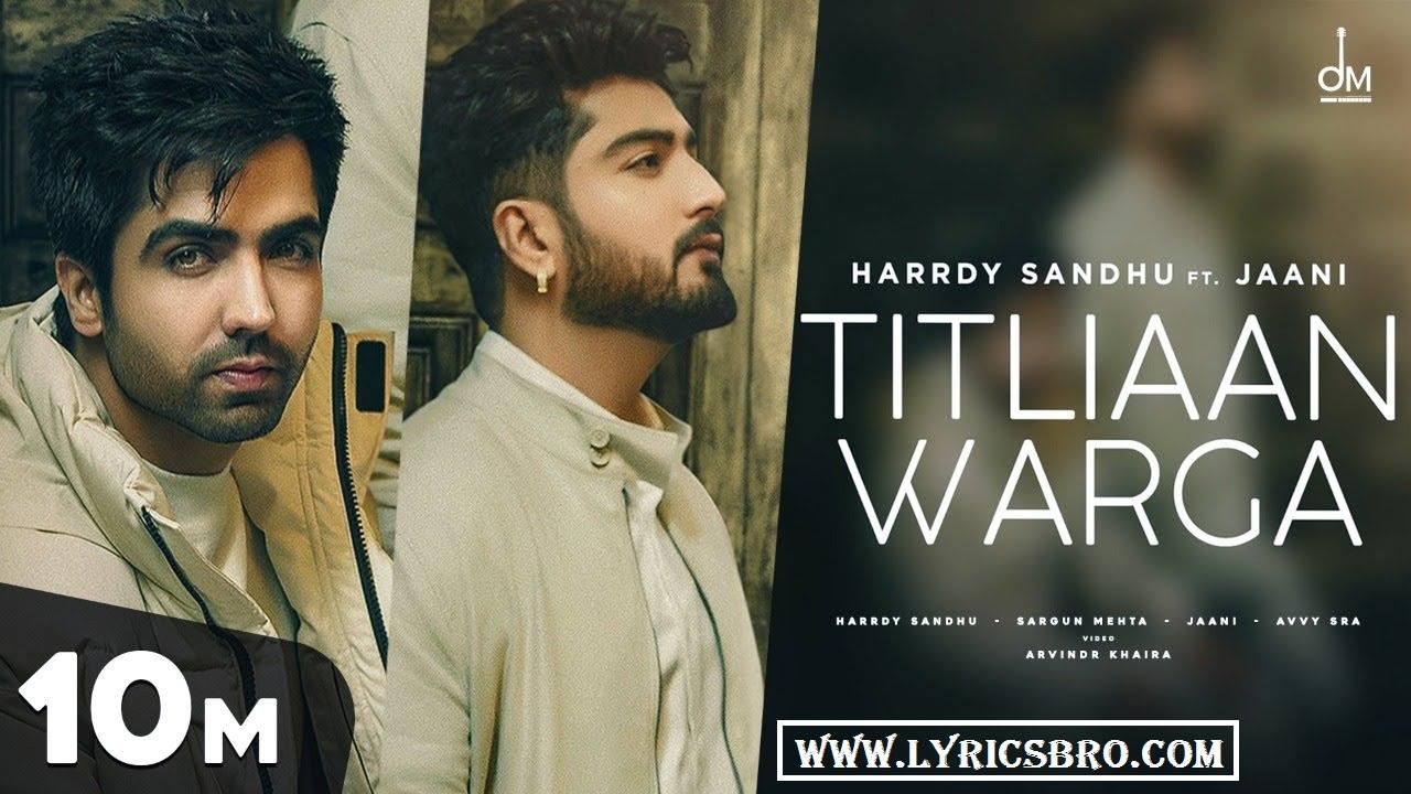 titliyan-warga-hindi-lyrics-harrdy-sandhu