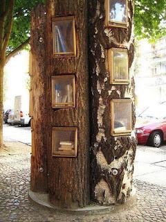Librería-árbol en Berlín