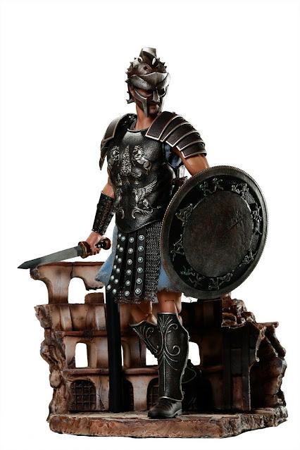 figurine - gladiateur romain - taille 1/6
