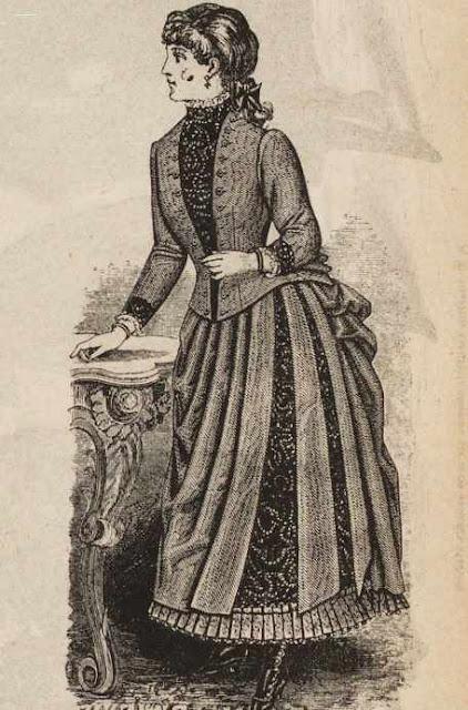 модное платье ретро