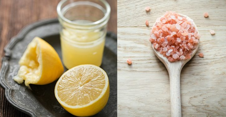 A Recipe With Lemon And Salt To Stop Migraine Immediately