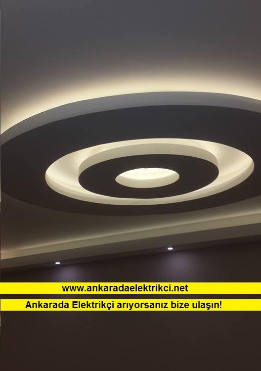 Ankara Tavan Dekorasyon Aydınlatma Çalışmamız