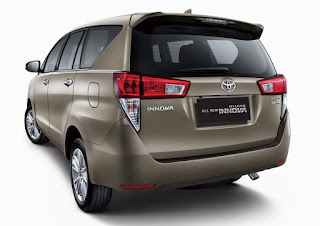 New Toyota Innova 2017 Price in India