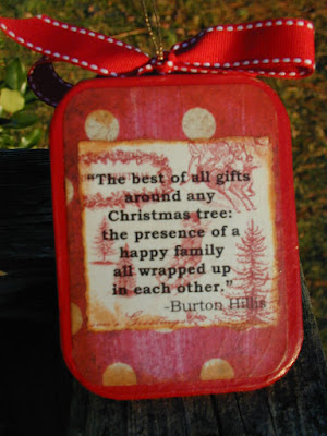 Family Keepsake Ornaments 2