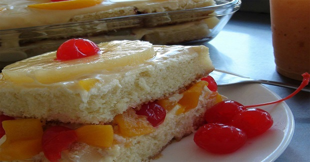 Fruta De Crema (Fruit Cream)  Recipe