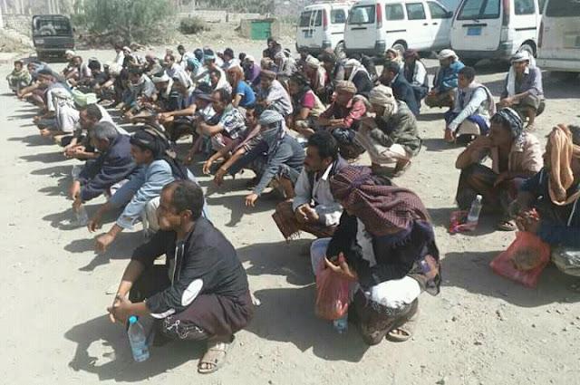 امن الضالع يحبط محاولة تهريب قرابة 100 ضابط وجندي من اتباع العميد طارق صالح شاهد بالصور