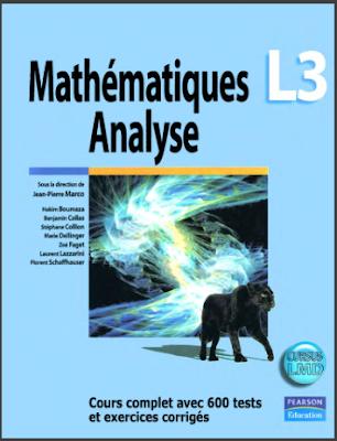 Télécharger Livre Gratuit Analyse, Cours complet avec 600 tests et exercices corrigés pdf