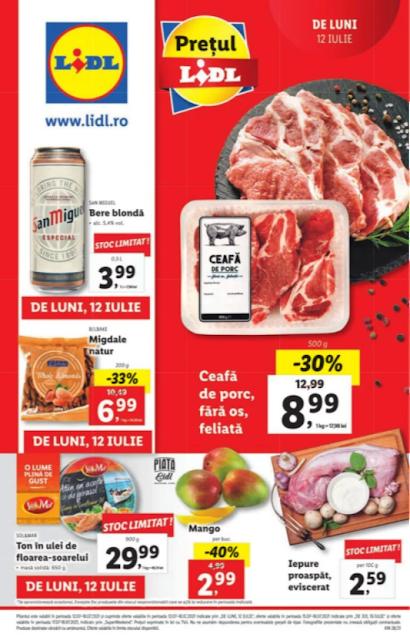 LIDL catalog brosura    12-18.07 2021