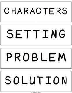 https://www.teacherspayteachers.com/Product/Fairy-Tales-Story-Elements-Matching-Interactive-2894309