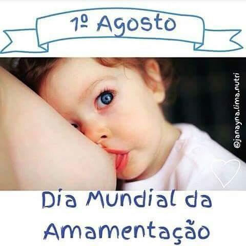 Dia Mundial Da Amamentação Izabel Dos Santos