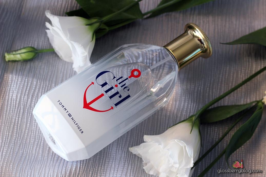 Tommy Hilfiger - The Girl perfume בושם טומי הילפיגר דה גירל ג'יג'י גלוסברי בלוג איפור וטיפוח