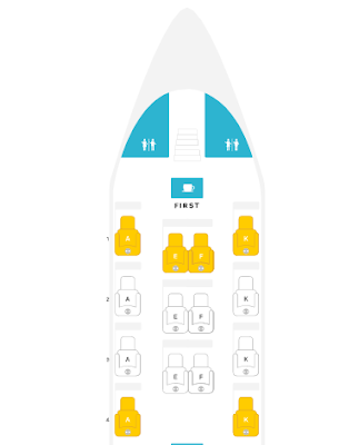 Emirates A380 First Class Seat Map