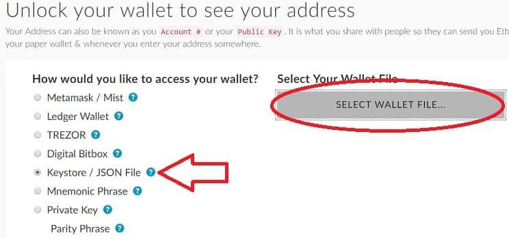 cargar achivo wallet de Po.et