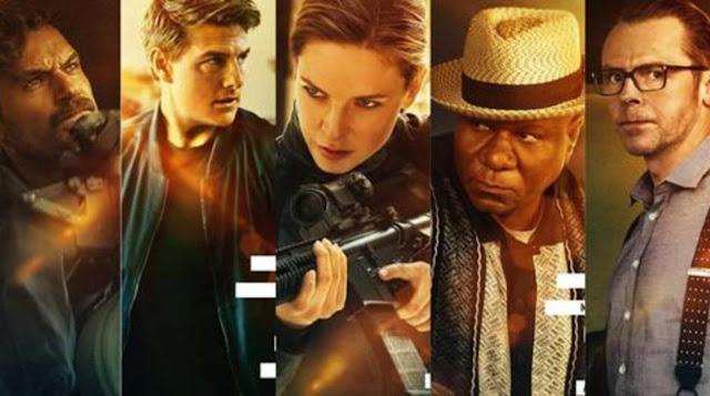 MI Fallout Cast : Henry Cavill, Tom Cruise, Rebecca Ferguson, Vig Rhames, Simon Pegg
