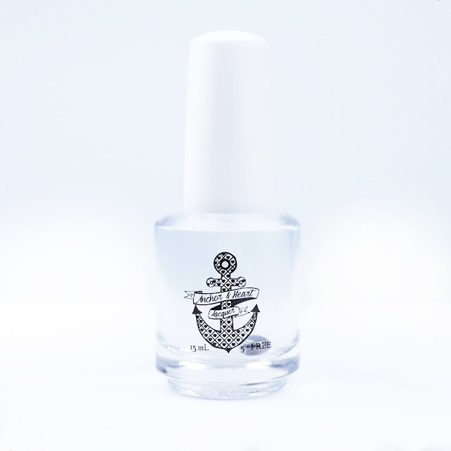 Anchor & Heart Lacquer Ferry Fast 5-Free Top Coat