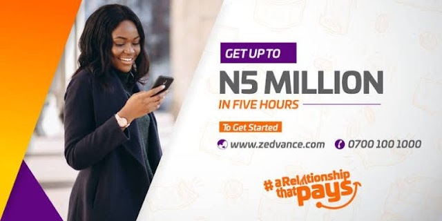 Zedvance Loan | Tips on How To Apply and Get Up to N5million