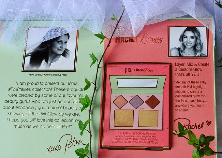 Pixi Pretties - The Layers Highlighting Palette - Paleta rozświetlająca do oczu, twarzy i ciała