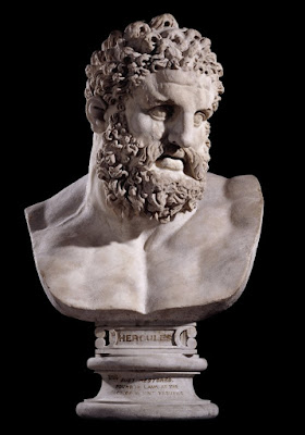 A Bust of Hercules. 2nd Century AD