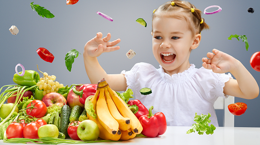 What are healthy foods for children?