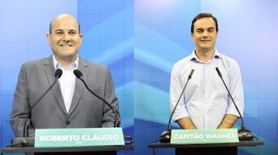 Resultado de imagem para Roberto Cláudio e capitão