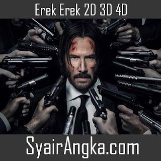 Erek Erek Pembunuh Bayaran 2D 3D 4D