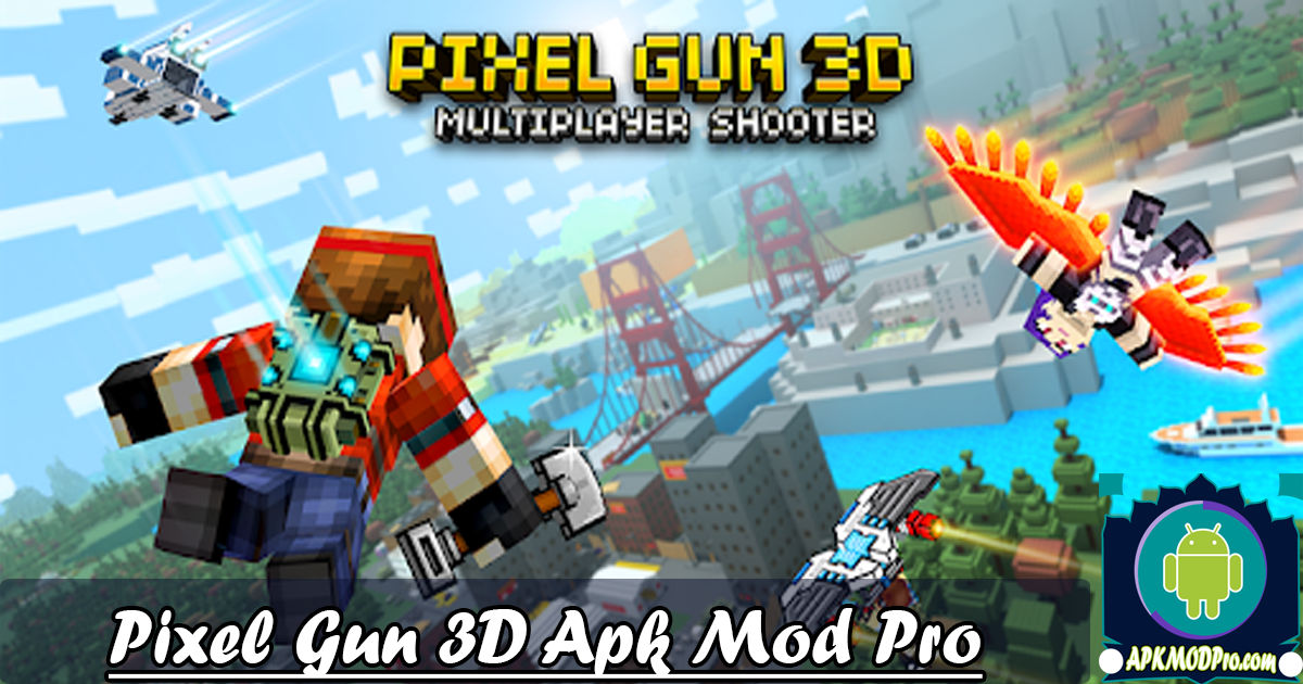 Download Pixel Gun 3D Mod Apk v17.1.2 (Unlimited Bullets) Terbaru 2020