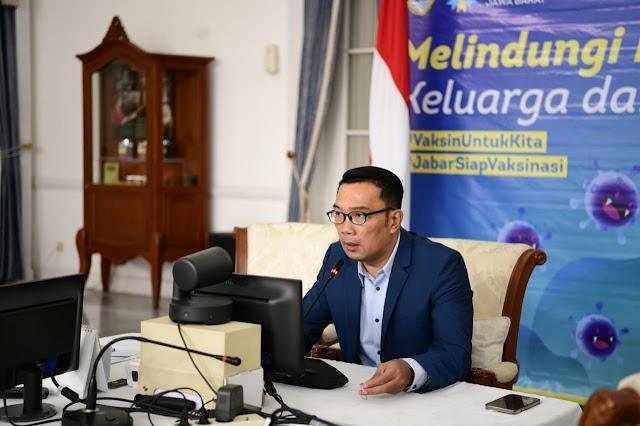 Gubernur Jabar : Covid-19 Varian Delta Ditemukan Di Karawang dan Depok