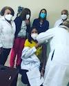 Realizan jornada de vacunación anti-covid a personal médico del hospital  Doctor Rodolfo de la Cruz Lora