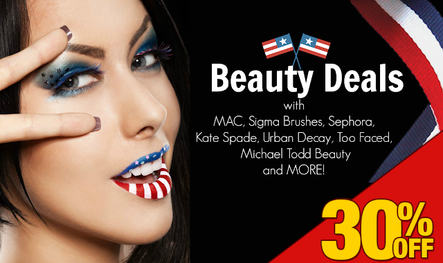 30% Off MAC, Sigma Brushes, Michael Todd Beauty and More 4th of july sales by Barbies Beauty Bits