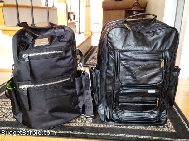 Here Are The Two Bags I Bought Side By