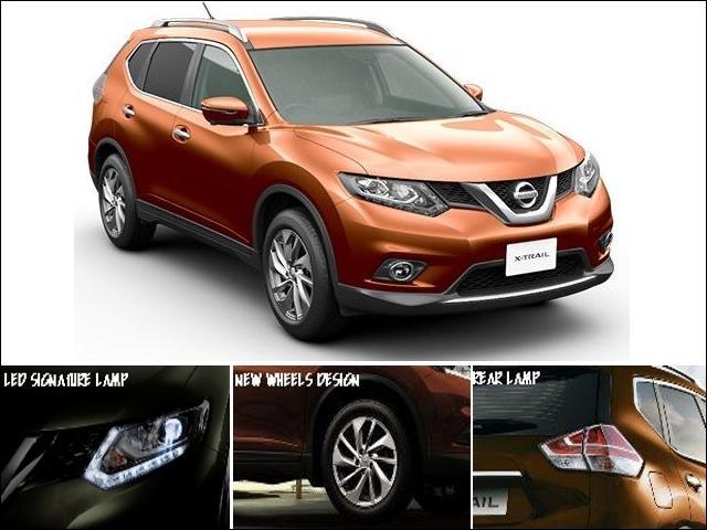 Exterior Nissan X-Trail Mobil SUV Tangguh dan Sporty Terbaik