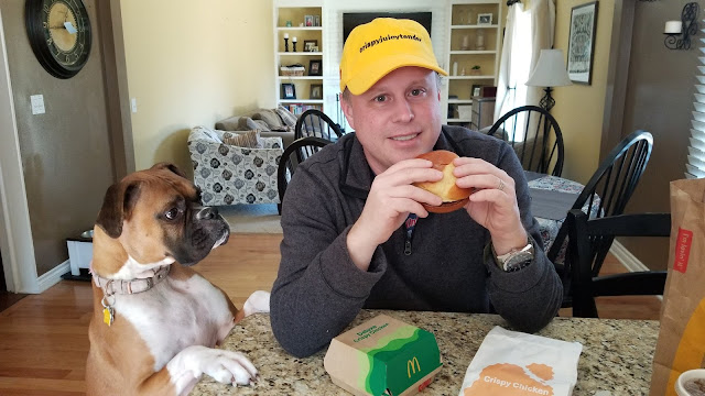 mcdonalds crispy chicken sandwich