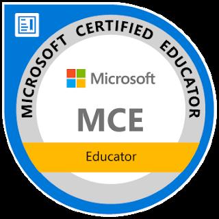 Microsoft Certified Educator, 2015-Present