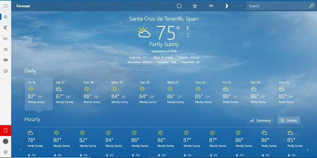 6 things you can do with the Weather app on Windows 10