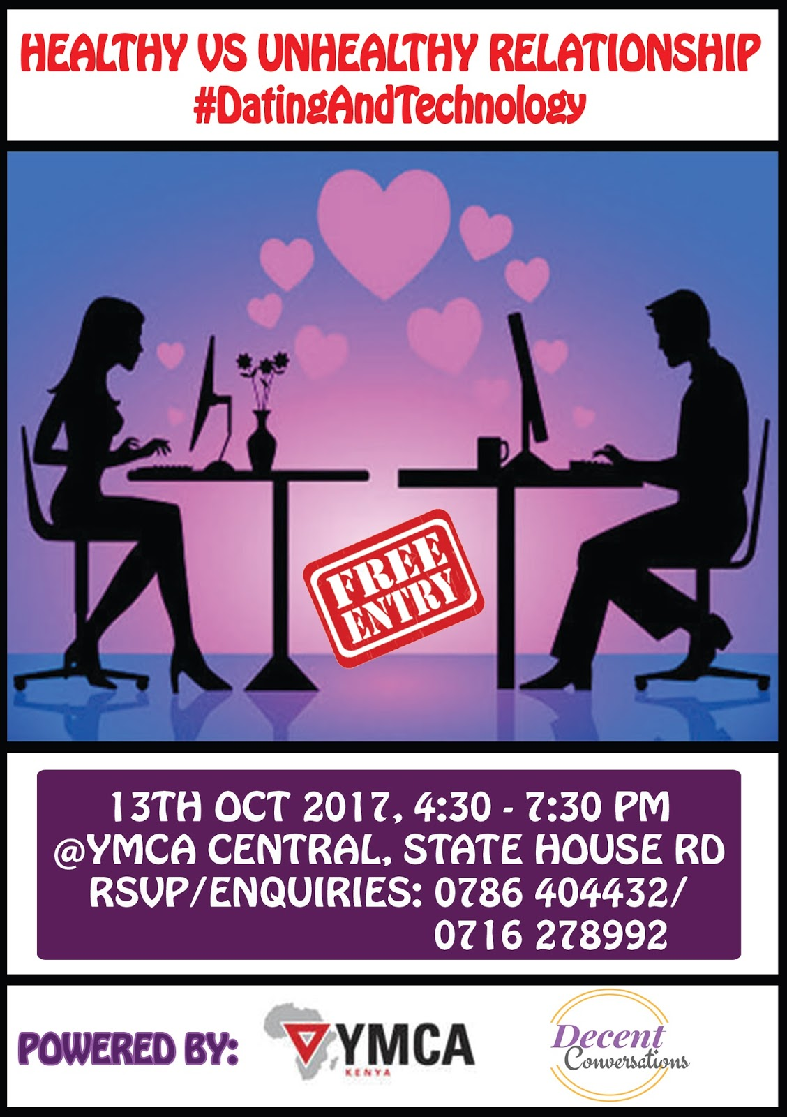 Upcoming Event Healthy Vs Unhealthy Relationships Datingandtechnology
