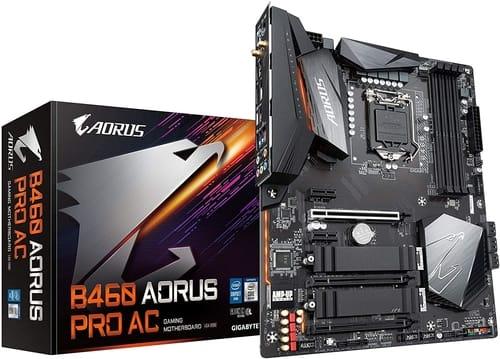 Review Gigabyte B460 AORUS PRO AC Motherboard