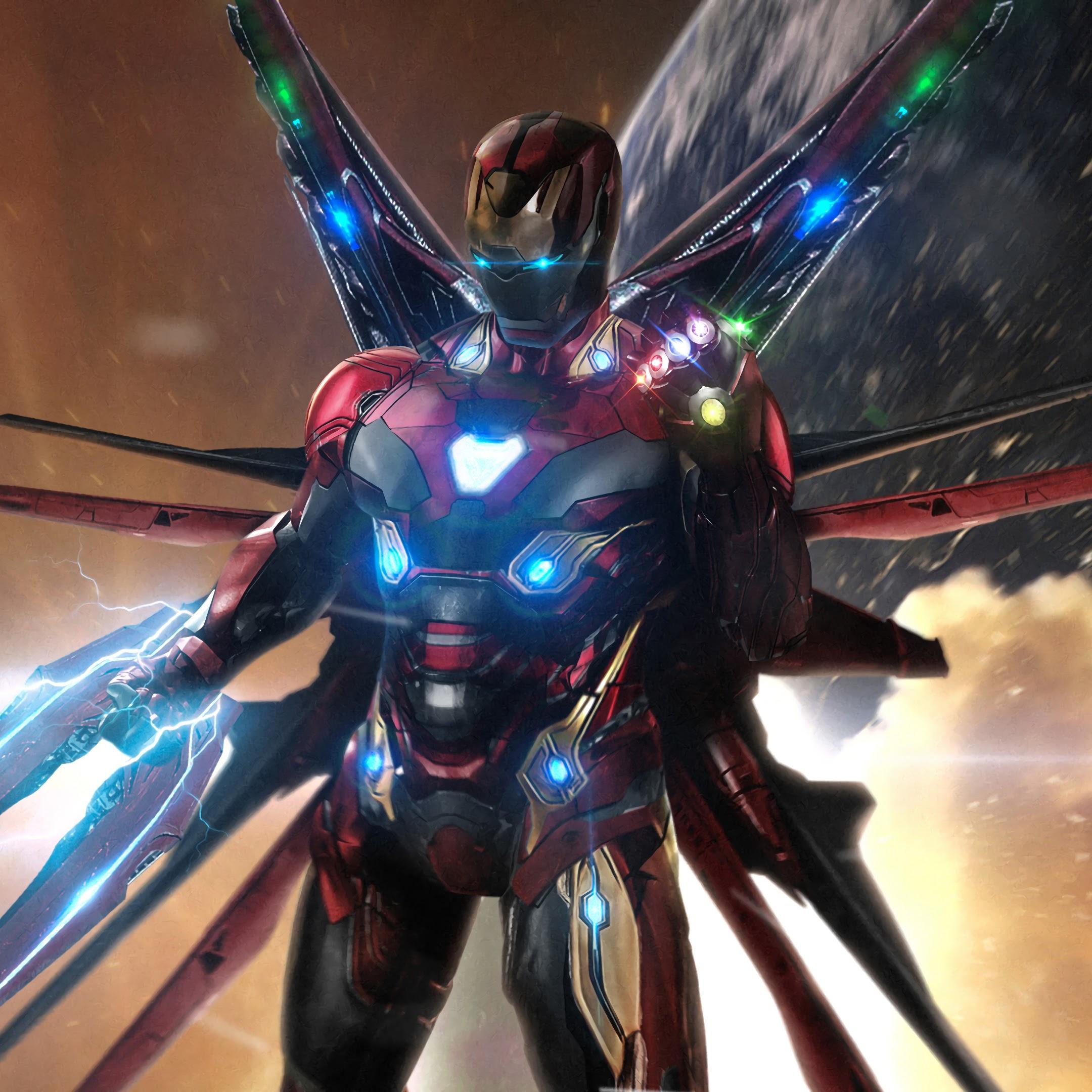 Iron Man Infinity Stones Avengers Endgame 4k 12