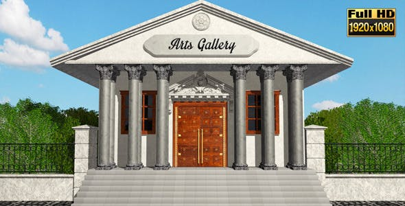 Videohive - Museum Art Gallery 8047023
