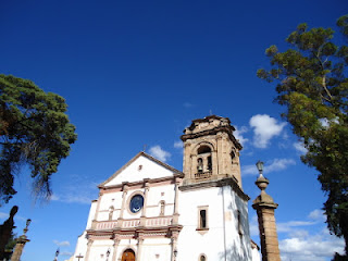 Basilica of Our Lady of Health in Patzcuaro